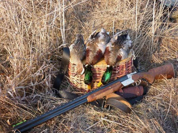Охота на утку с чучелами