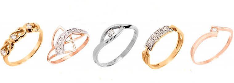 Золотые кольца на заказ