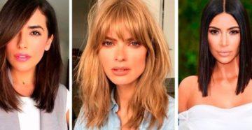 Стильные стрижки на средние волосы для женщин - фото, видео