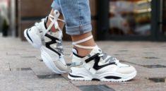 Какие сейчас модные кроссовки, с чем носить, обзор трендовых образов
