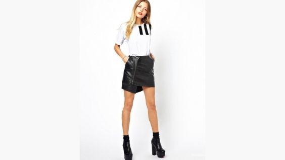 Что одеть под кожаную юбку – идеи на каждый день и для любого случая