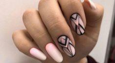 Превосходные ногти геометрия