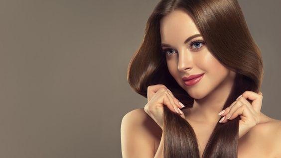 Каштановый цвет волос - фото, оттенки, кому идет, как покрасить пряди